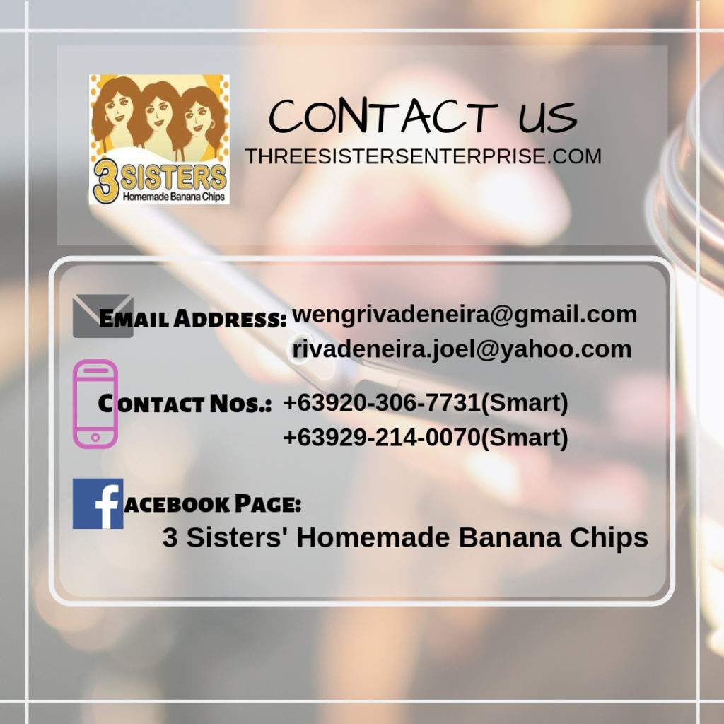 Contact Us details: